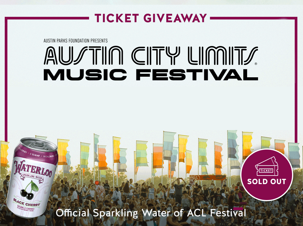 Official Sparkling Water of ACL Music Festival 2021