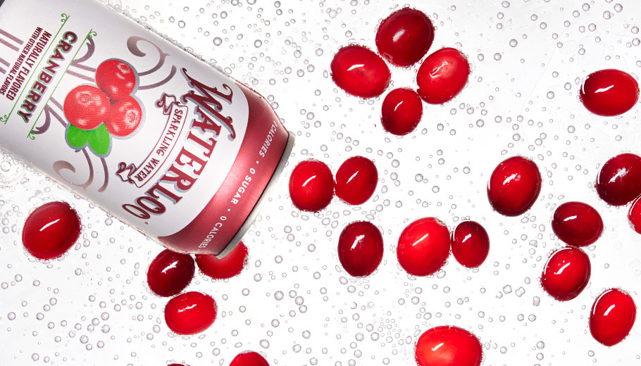 Waterloo Cranberry in Sparkling Water